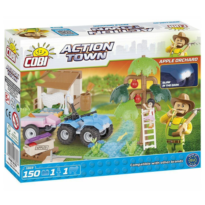 Cobi 1869 ACTION TOWN Farma ovocný sad 150 k, 2 f