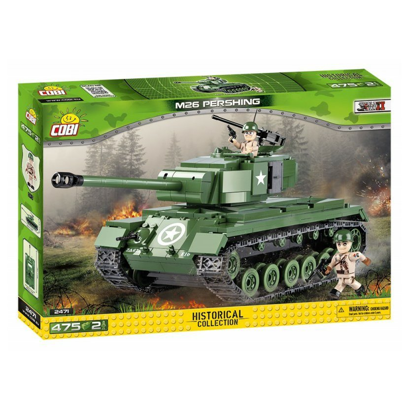 SMALL ARMY - II WW M26 Pershing 475 k, 2 f