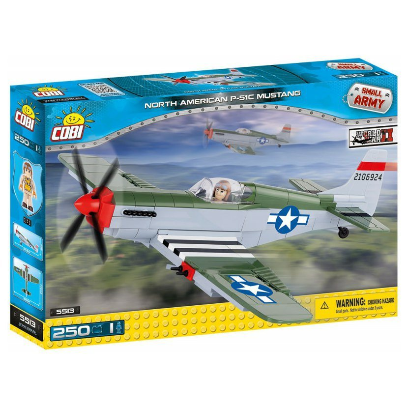 SMALL ARMY - North American P-51C Mustang 250 k, 1 f