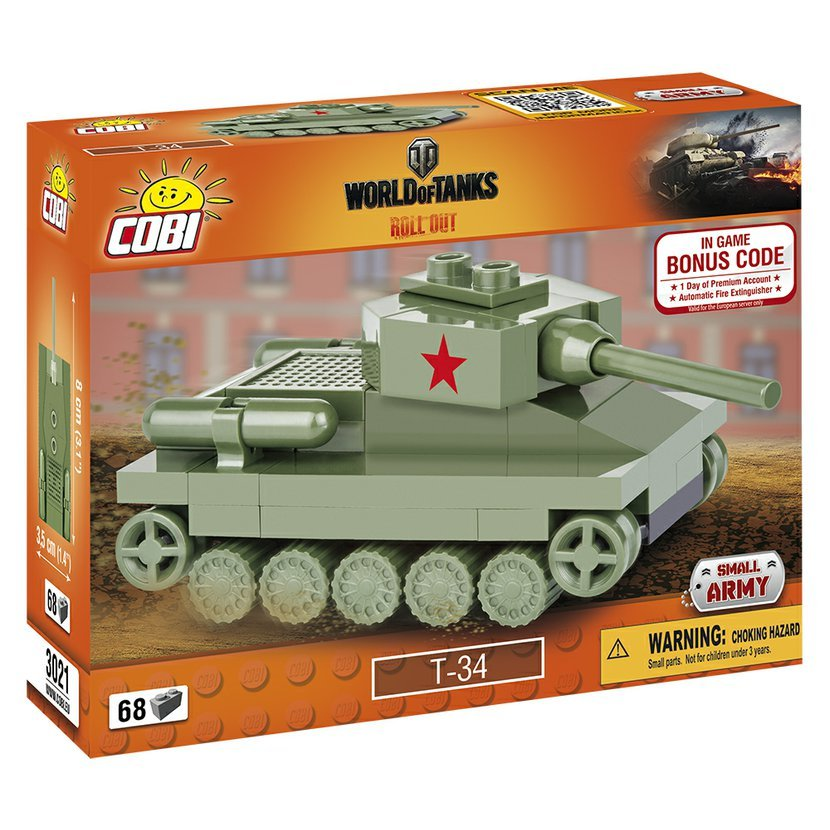 World of Tanks Nano Tank T-34, 68 k