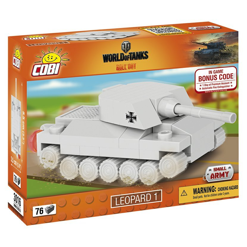 World of Tanks Nano Tank Leopard 1, 76 k