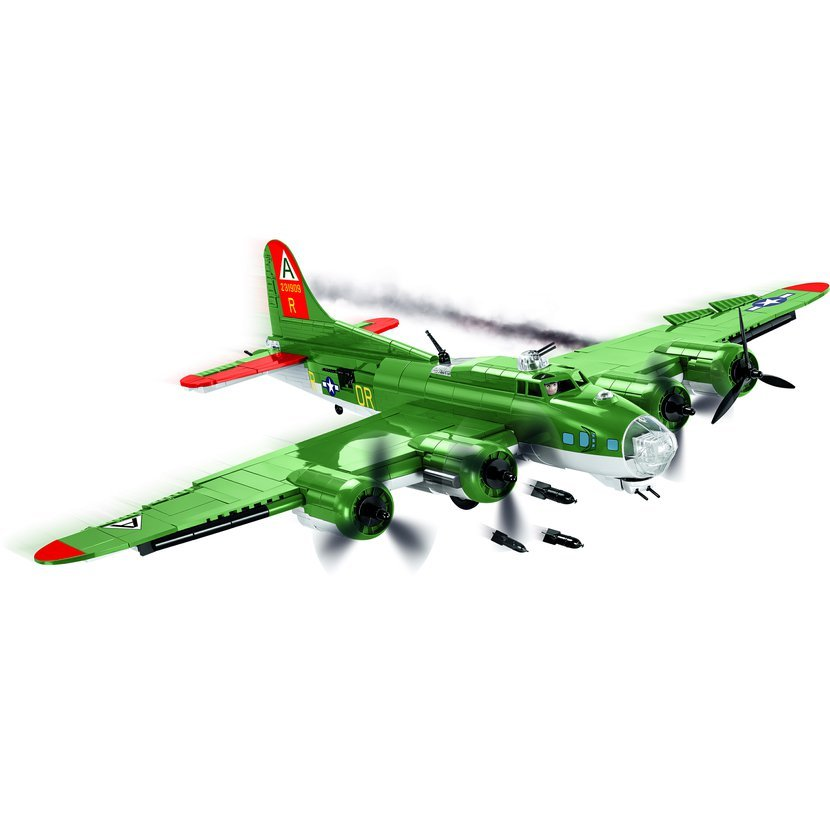 Cobi 5703 SMALL ARMY – II WW B-17G Flying Fortress, 920 k, 1 f