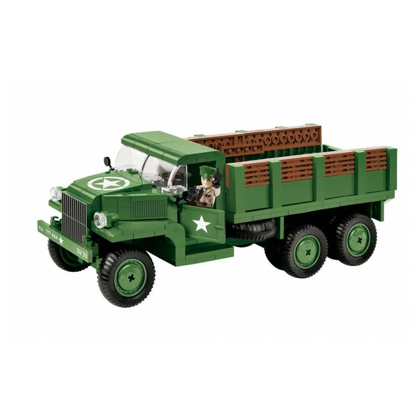 Cobi 2378 SMALL ARMY - GMC CCKW 353, 345 k, 1 f